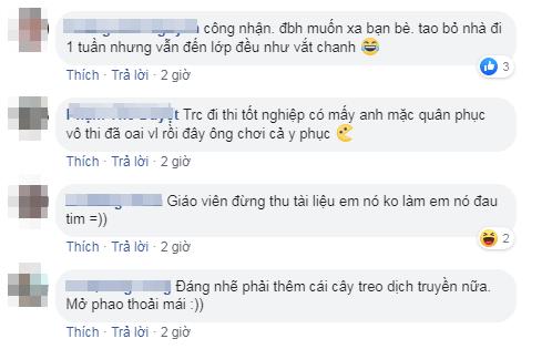 Những bình luận hài hước của dân mạng.