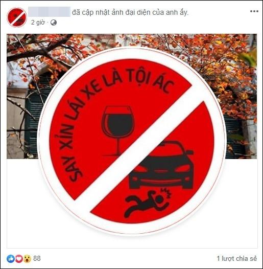 Sau tai nạn thương tâm ở hầm Kim Liên, CĐM đồng loạt thay hình đại diện: Say xỉn lái xe là tội ác!
