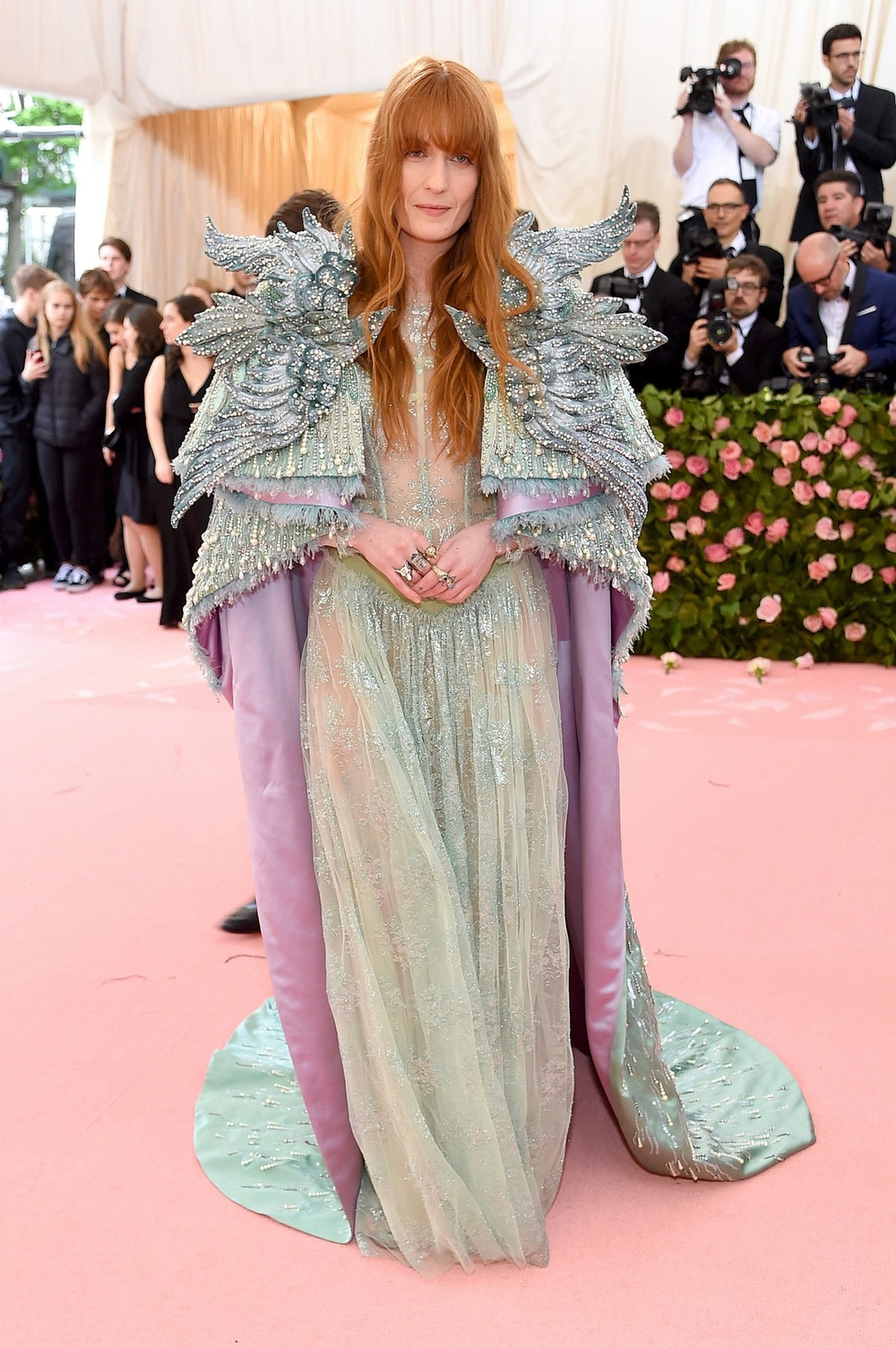 Nữ ca sỹ Florence Welch.