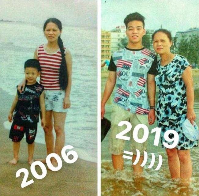 Biển vẫn đây còn mẹ con ta đã thay đổi quá nhiều.