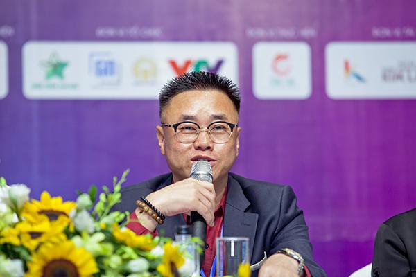 Ông Kim Heung Gyu, Trưởng Ban tổ chức chương trình We*friend concert in Vietnam 2019.