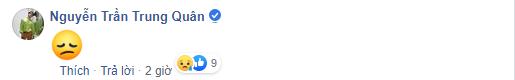 Nguyễn Trần Trung Quân cũng nghẹn ngào không chia sẻ gì chỉ bình luận với icon buồn khóc. - Tin sao Viet - Tin tuc sao Viet - Scandal sao Viet - Tin tuc cua Sao - Tin cua Sao