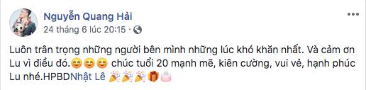 Lời chúc mừng sinh nhật có 96 ngànlượt like, gần 2 ngàn lời bình luận. - Tin sao Viet - Tin tuc sao Viet - Scandal sao Viet - Tin tuc cua Sao - Tin cua Sao