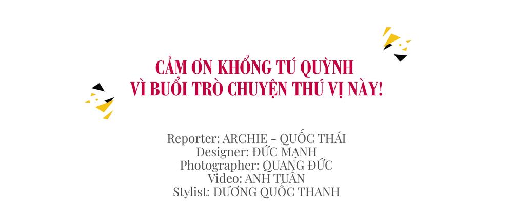 Khổng Tú Quỳnh: Tôi tự hào vì tự lập sớm, không dựa dẫm vào bất kỳ ai để đi lên