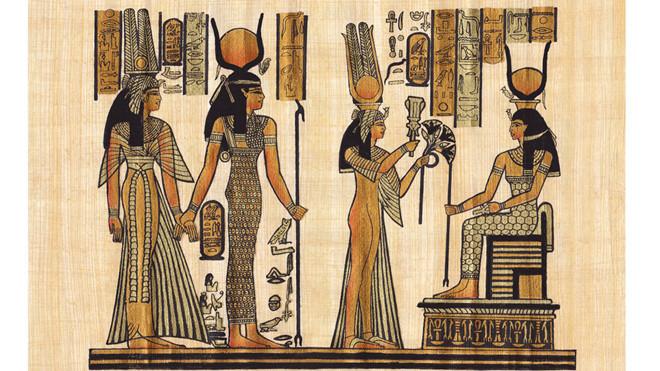 Mô phỏng hình ảnh của nữ hoàng Cleopatra. (Ảnh: ShutterStock)