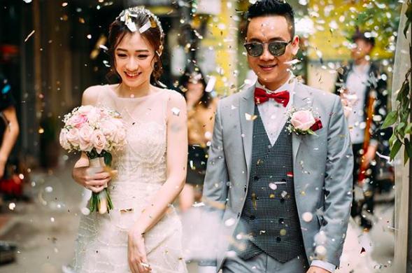 Những cặp vợ chồng ca sĩ - hot girl hạnh phúc của showbiz Việt