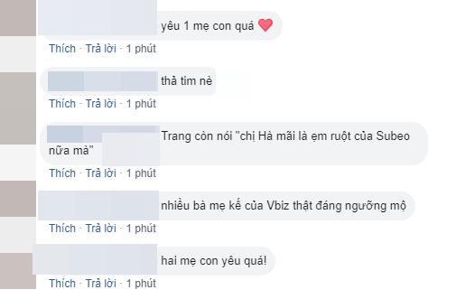 Rất nhiều lời khen và sự ngưỡng mộ dành cho tình cảm của Đàm Thu Trang và Subeo. (Ảnh chụp màn hình)  - Tin sao Viet - Tin tuc sao Viet - Scandal sao Viet - Tin tuc cua Sao - Tin cua Sao
