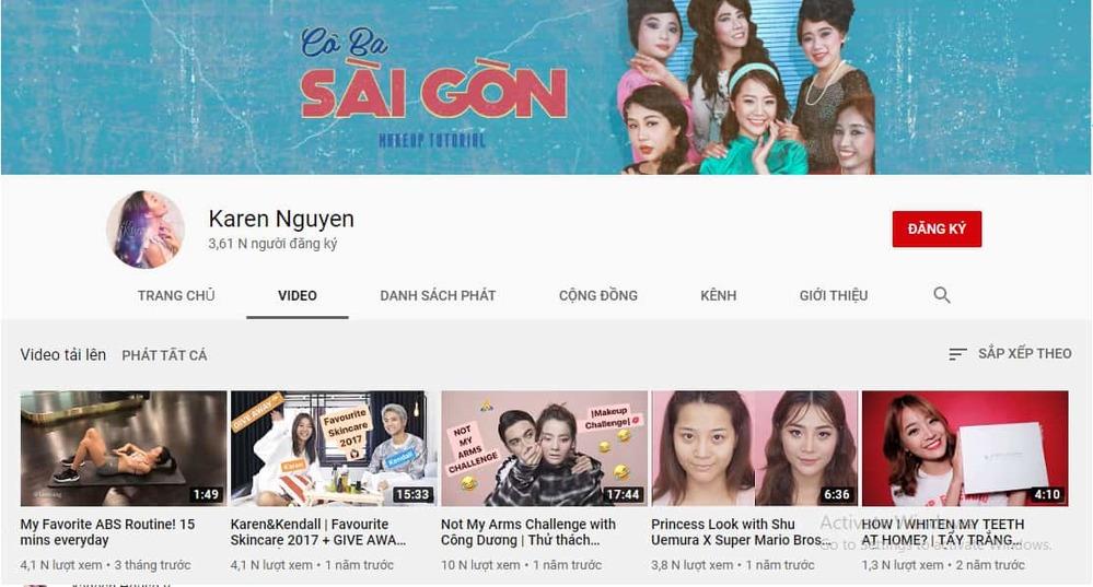 Kênh youtube của Kiều Diễm - Tin sao Viet - Tin tuc sao Viet - Scandal sao Viet - Tin tuc cua Sao - Tin cua Sao