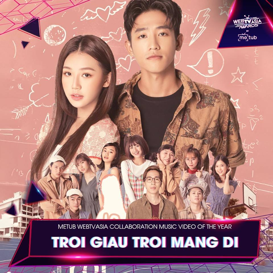 Collaboration Music Video of the Year: Trời giấu trời mang đi - Amee x ViruSs​.