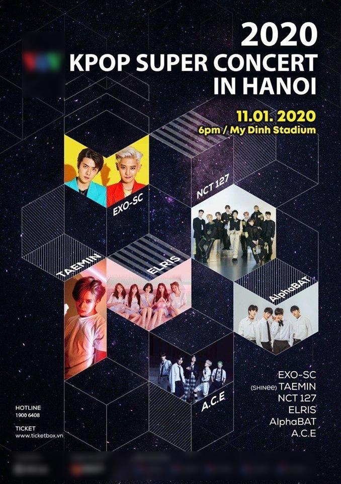 2019 - năm được mùa của fan Việt, khi dàn sao Kpop liên tục đổ bộ