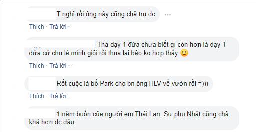 CĐM Việt cho rằng khả năngông Nishino bị mất việc là rất cao.Ảnh: Chụp màn hình