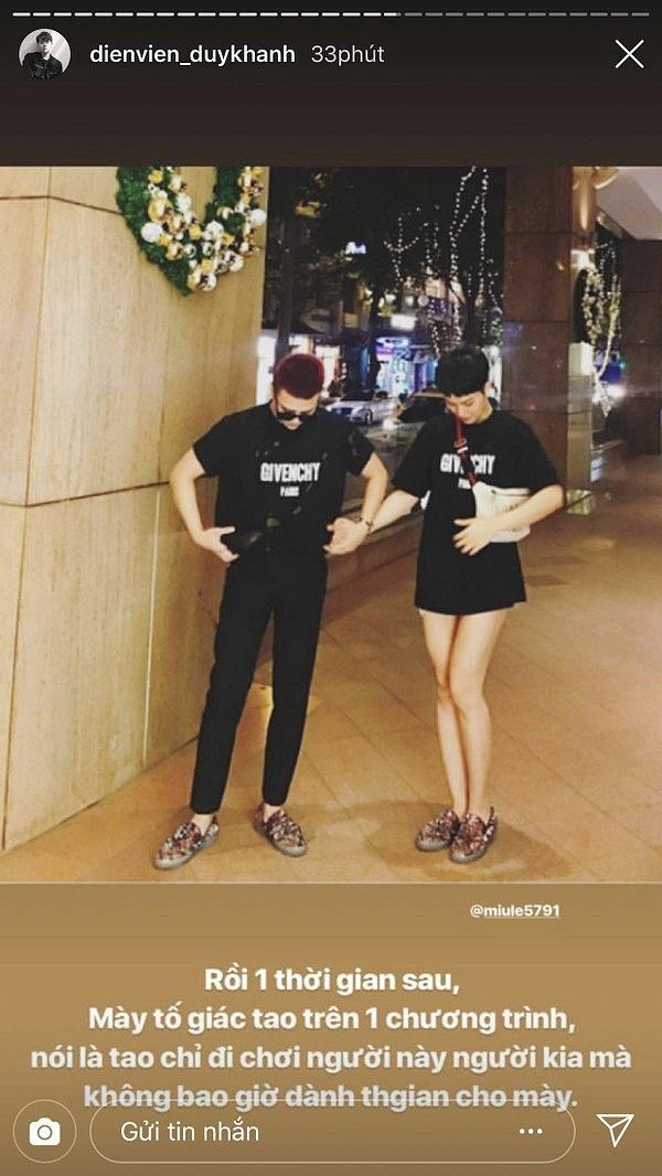 Fan khui loạt bằng chứng khẳng định Duy Khánh và Miu Lê đã nghỉ chơi - Tin sao Viet - Tin tuc sao Viet - Scandal sao Viet - Tin tuc cua Sao - Tin cua Sao
