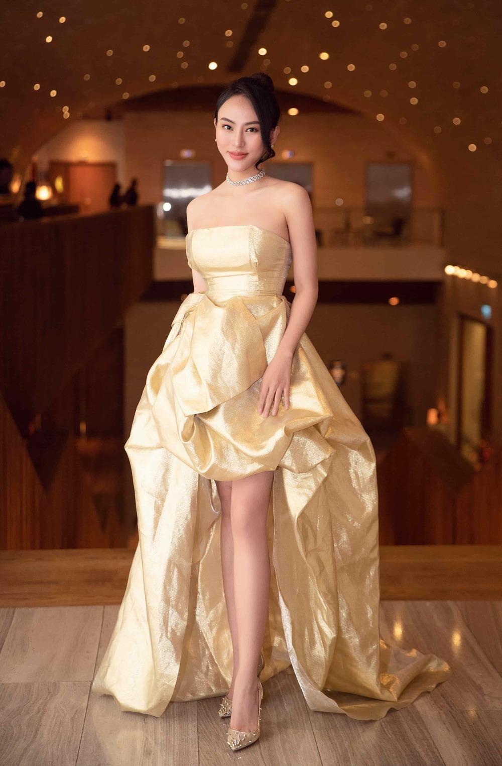 Hoa hậu Thu Hoàng lộng lẫy đi nghe nhạc - Tin sao Viet - Tin tuc sao Viet - Scandal sao Viet - Tin tuc cua Sao - Tin cua Sao