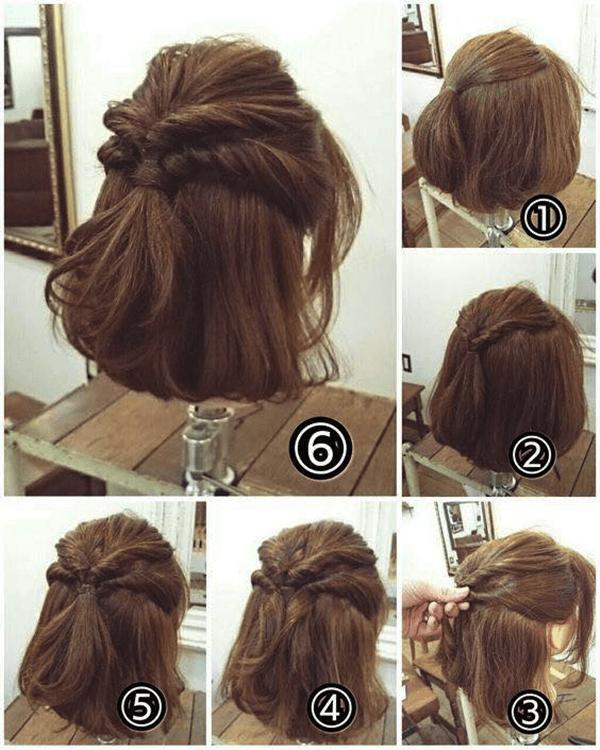 Cách tạo kiểu cuộn xoắn tóc