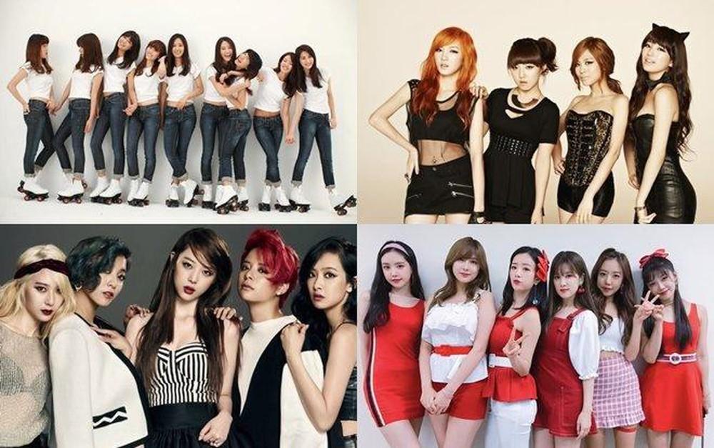 Cùng xem nhóm nhạc nữ nào có các thành viên đều nổi tiếng nhé. (Ảnh minh hoạ: Koreaboo)