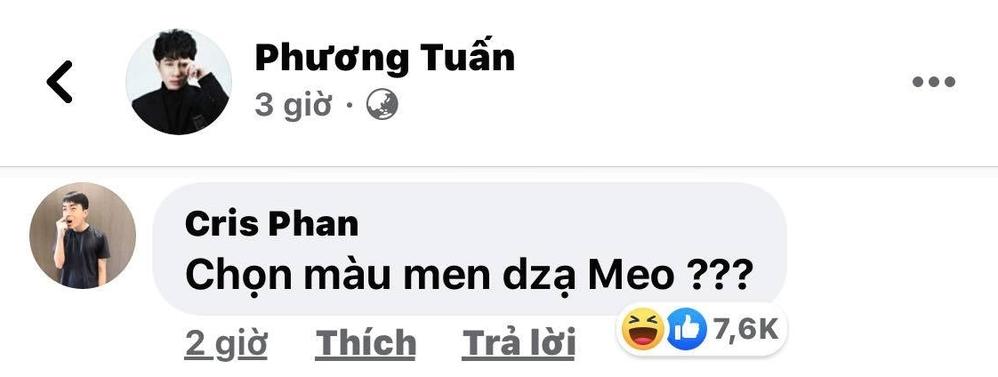 """Cris Phan cũng """"cà khịa"""" như đàn anh."""