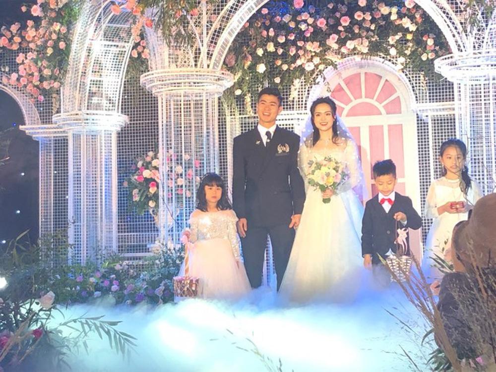Hôn lễ của cặp đôi Duy Mạnh và Quỳnh Anh diễn ra ngày 9/2/ 2020