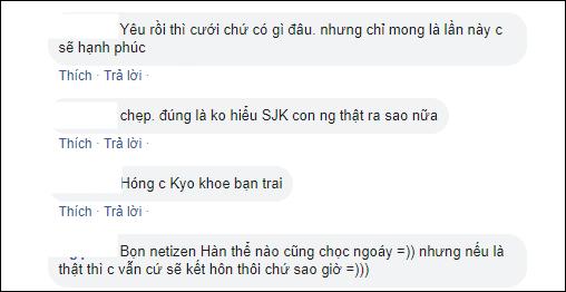 Nhiều ngườiủng hộ Song Hye Kyođi tìm hạnh phúc mới.Ảnh: Chụp màn hình