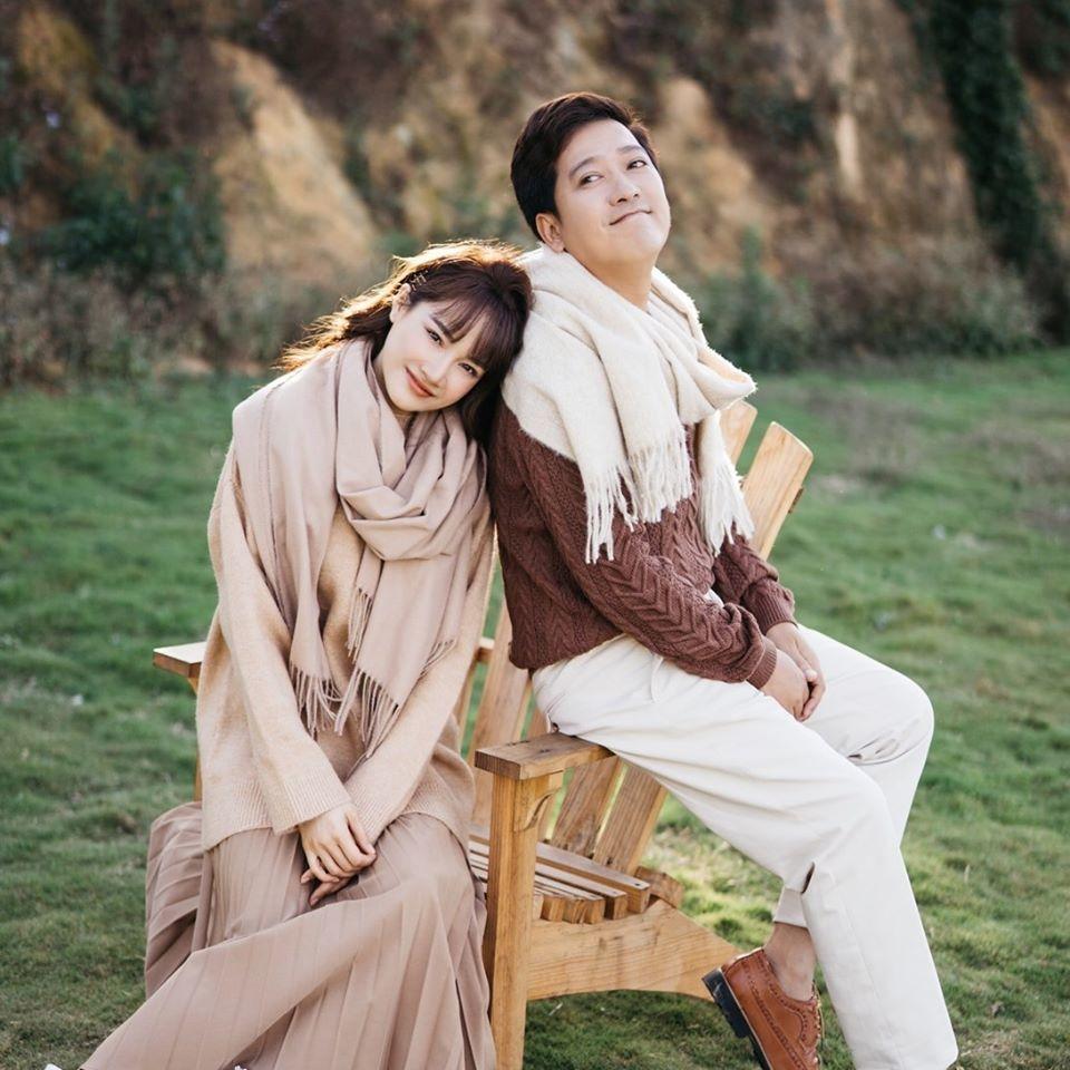 Trường Giang và Nhã Phương được xem là cặp đôi hot nhất nhì showbiz Việt (Ảnh: Facebook nhân vật)