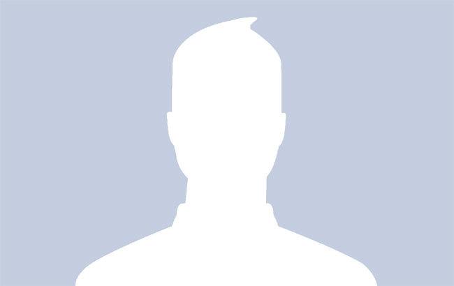 Avatar mặc định của Facebook bị nhiều dân mạng chê... nhàm chán. (Ảnh: Chụp màn hình).