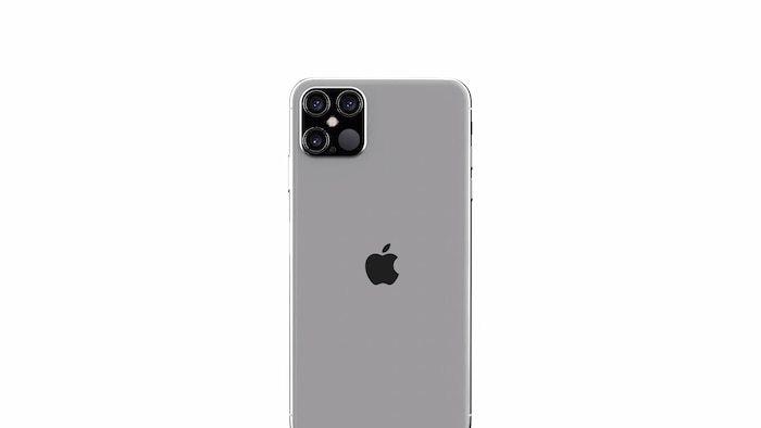"""Mặt lưng hoàn hảo với bốn camera đối xứng khiến iFan """"mãn nhãn"""".(Ảnh:ConceptsiPhone)"""