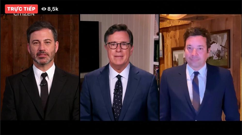 3 MC nổi tiếng của các chương trình US-UK(Ảnh: Chụp màn hình).