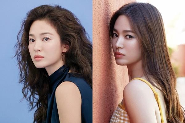 Song Hye Kyo thử những kiểu make-up khác nhau, mang đến cảm giác mới lạ cho fan. Ảnh: Instagram