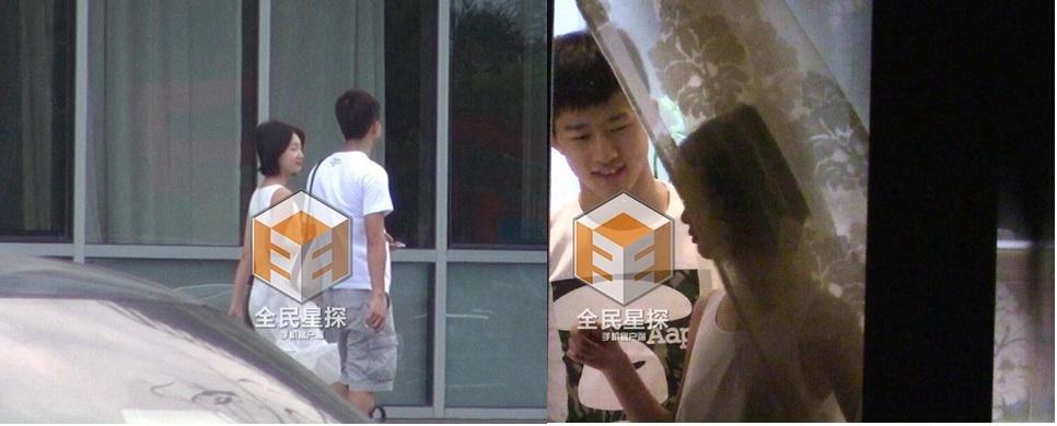 Hình ảnhpaparazzi chụp lại được - Ảnh weibo