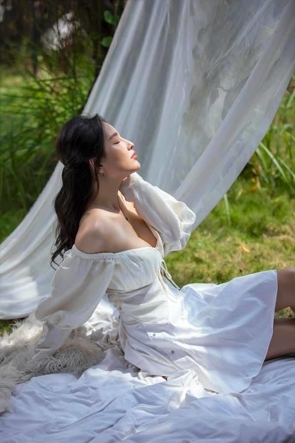 Lấy lại vóc dáng đáng mơ ước, cô nàng khiến nhiều người thấy ganh tỵ và ngưỡng mộ. (Ảnh: FBNV)