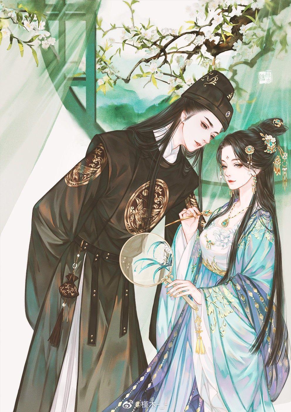 """Chính hành động""""không buông tay"""" của Phụng Dương công chúa cùng việc """"thức tỉnh kịp thời"""" của Chiêu Minh Đại Vương đã giúp họ có được hôn nhân ngày thêm mặn nồng, hạnh phúc về sau. (Ảnh minh họa: Pinterest)"""