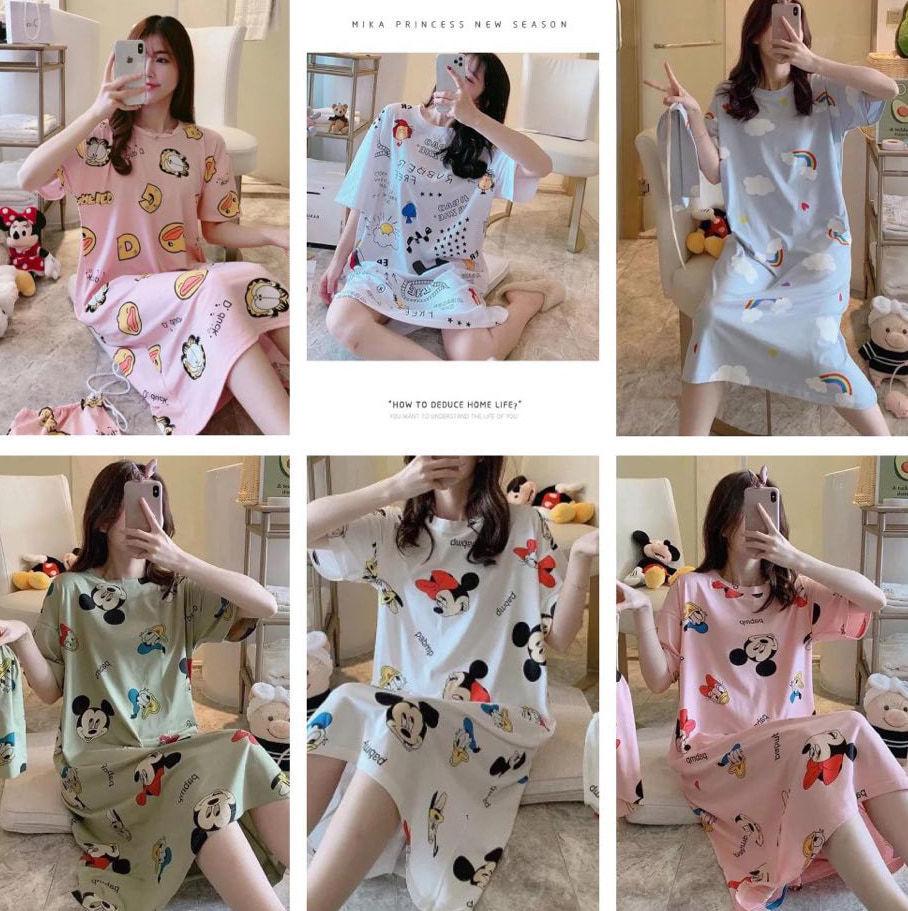 Thiên đường váy ngủ rẻ bèo giống của chân dài Trà Vinh được các shop online Việt order(Ảnh: T.H)