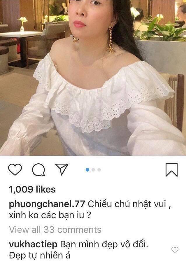 Phượng Chanel tự tin mình đẹp tự nhiên và Vũ Khắc Tiệp cũng thấy thế (Ảnh chụp màn hình) - Tin sao Viet - Tin tuc sao Viet - Scandal sao Viet - Tin tuc cua Sao - Tin cua Sao