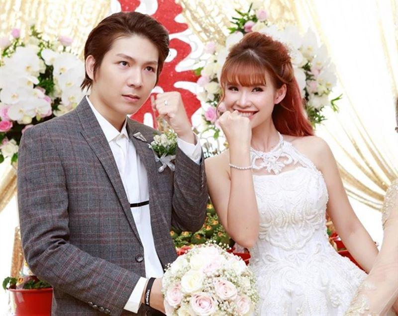 Cả hai tiến tới hôn nhân vào năm 2017 (Ảnh: FBNV).