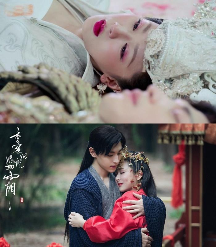 Cẩm Mịch và Húc Phượng sau cùng cũng có cái kết đẹp khi về bên nhau. (Ảnh: Weibo).