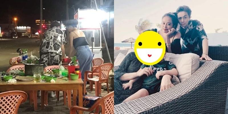 Gần đây, cặp đôi được cho là có chuyến nghỉ dưỡng cùng nhau tại một resort ở Vũng Tàu. Chuyến đi có sự tham gia của các thành viên trong gia đình Gil Lê. (Ảnh: Bí mật showbiz)
