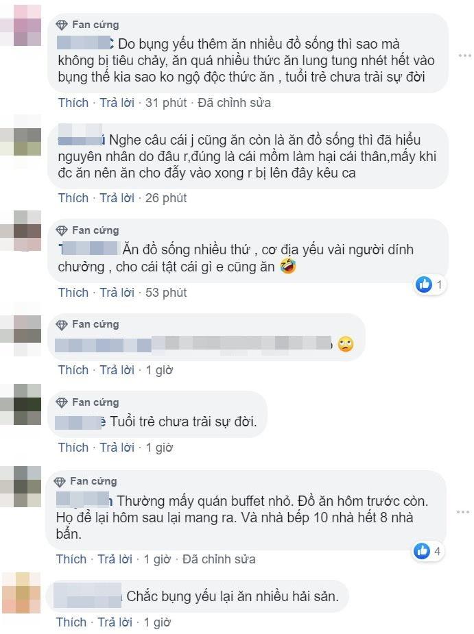 Một số bình luận của cư dân mạng. (Ảnh: Chụp màn hình).