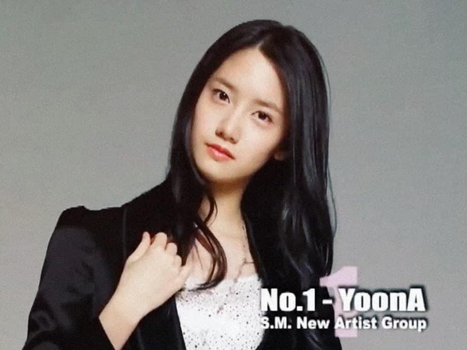 YoonA là thành viên đầu tiên trong đội hình SNSD. Ảnh: SM