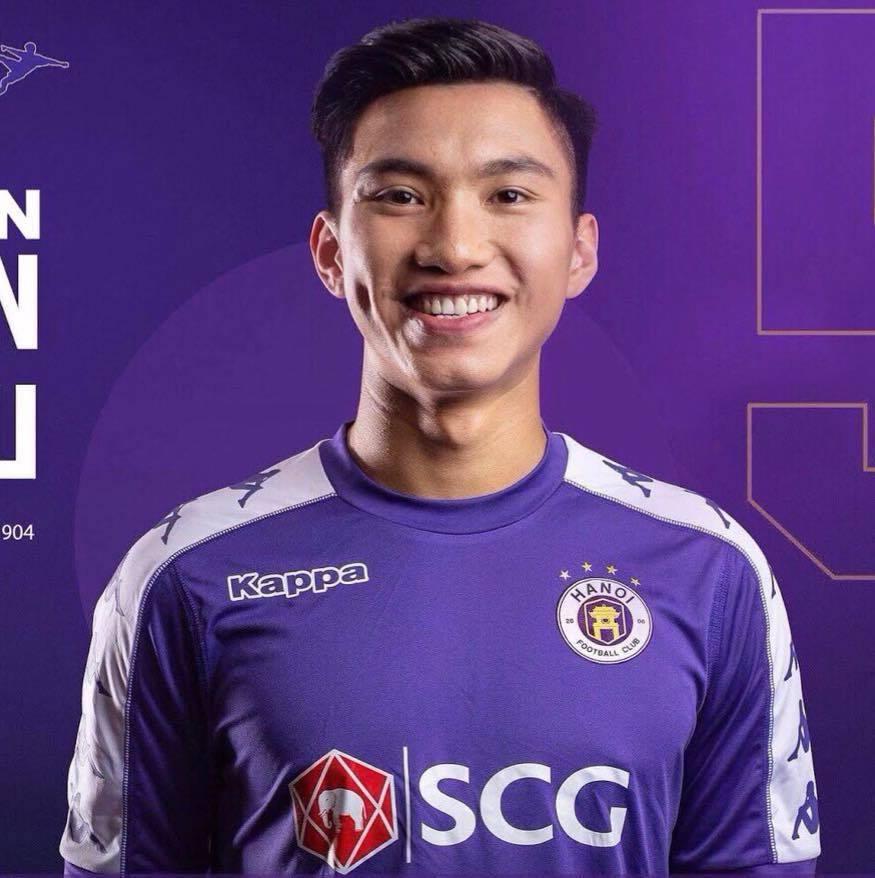 Văn Hậu sẽ trở về và thi đấu cho Hà Nội FC. (Ảnh: FBNV).