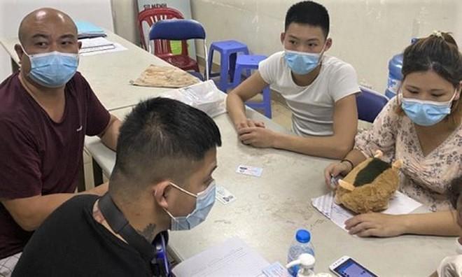 Người nước ngoài nhập cảnh trái phép bị cơ quan chức năngphát hiện trên địa bàn thành phố Hồ Chí Minh. (Ảnh: Thanh Niên)