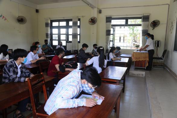 Điểm coi thi THPT tại tỉnh Quảng Nam. (Ảnh: VNExpress)