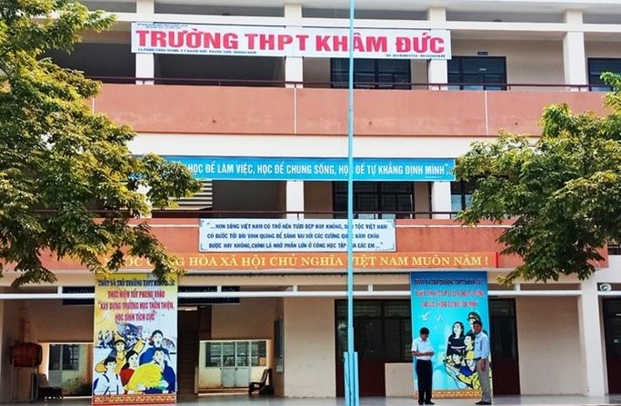 Điểm thi số 50 trong ki thi THPT tại Quảng Nam. (Ảnh: VietNamnet)