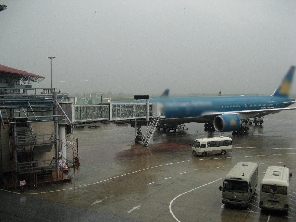 Hình ảnh máy bay chuẩn bị đón hành khách (Ảnh: Tiền Phong)