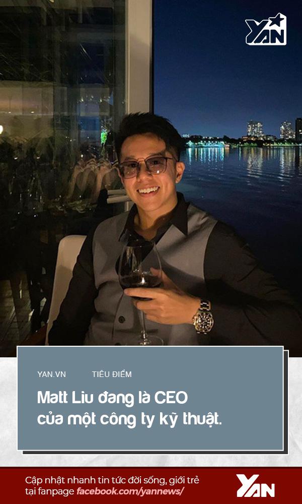 Matt Liu đang là CEO của một công ty kỹ thuật. (Ảnh: FBNV)