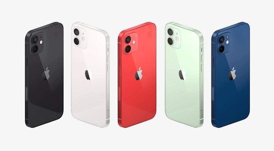 Màu sắc mới của iPhone (Ảnh: Apple)