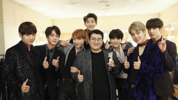 Nhìn lại 5 kỷ niệm sâu sắc giữa BTS và người thầy Bang Shi Hyuk