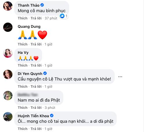 Các nghệ sĩ cùng chung tay, góp một lời cầu nguyện và mong rằng ai cũng sớm được đón nhận những tin tốt lành. (Ảnh: Chụp màn hình) - Tin sao Viet - Tin tuc sao Viet - Scandal sao Viet - Tin tuc cua Sao - Tin cua Sao