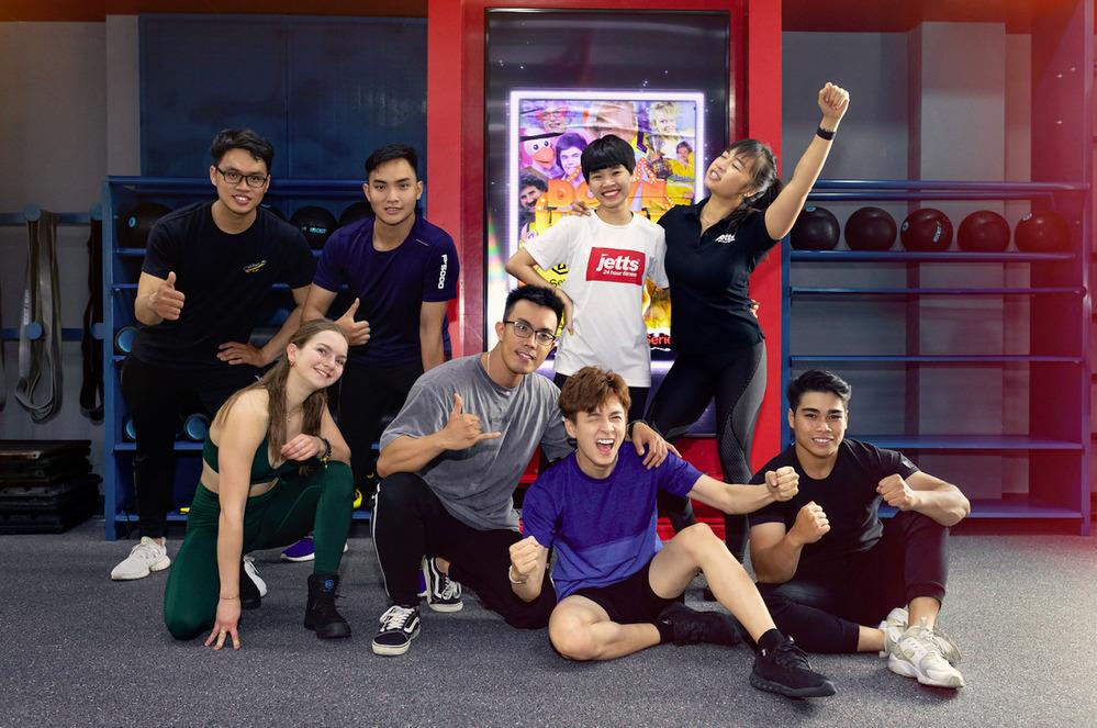 Các bài tập độc quyền J-Series mang đến trải nghiệm mới mẻ cho gymer Việt Nam