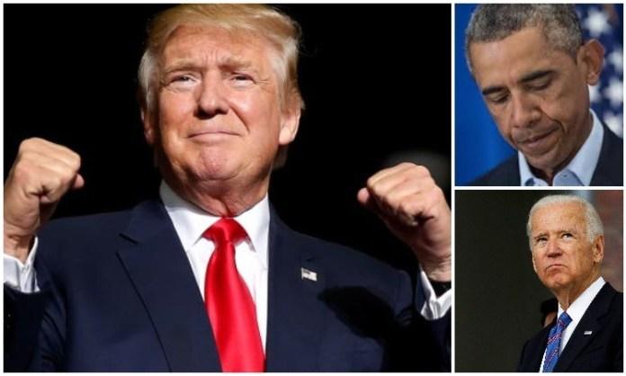 """Ông Trump đã chiến thắng cuộc bình chọn trước hai ứng cử viên """"nặng kí"""". (Ảnh: Op India)"""