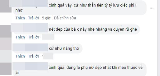 Một số bình luận của cư dân mạng trước nhan sắc của Huyền Trang.(Ảnh: FB PHT)