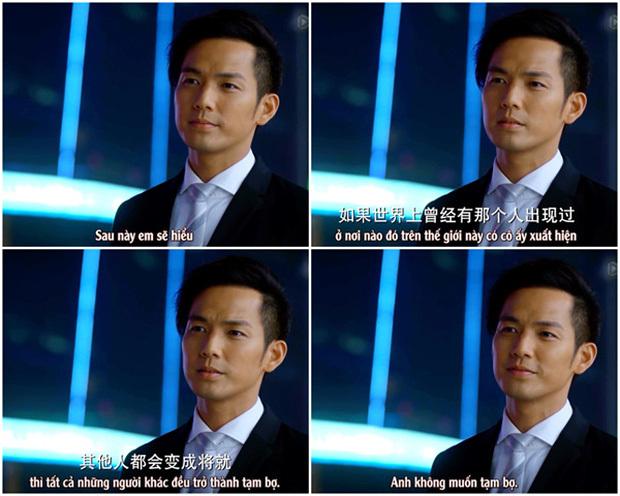 Câu nói cực nổi tiếng của luật sư Hà Dĩ Thâm (Ảnh: Chụp màn hình)